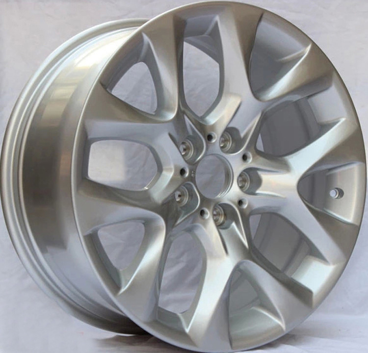 BMW Forged Wheels  / Silver Customized 1-PC  Forged Alloy Wheels with 5x120