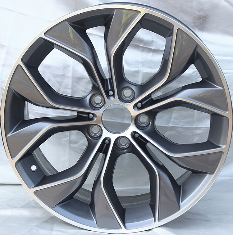 MW Forged Wheels  / Gun Metal Machined 19 inch Alloy Wheel Rims with 5x120 PCD