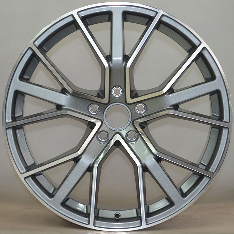 "Car Rims 20""  For Audi RS6 /  Gun Metal Machined Customized 20"" Forged Alloy Rims"