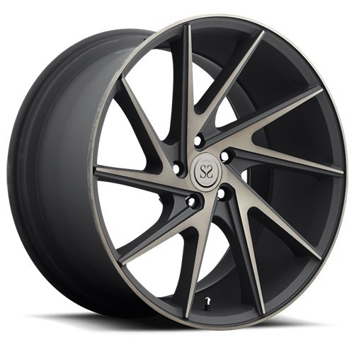 "luxury car 22"" 5x114.3 forged wheels aluminium alloy rims"