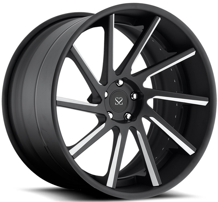 Customized 21inch Staggered Forged Alloy Rims For Audi R8